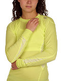 Helly Hansen LIFA DRY Long Sleeve Crew Women's (Lime)