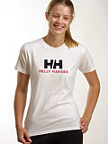 Helly Hansen Logo Tee Women's (White)