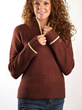 Horny Toad Callie Sweater Women's (Cabernet)
