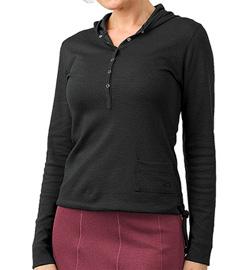 Horny Toad Cassis Hoodie Sweatshirt Women's (Black)