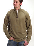 Horny Toad Roark Pullover Men's (Olive)