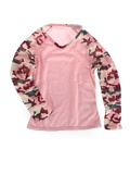 Hot Chillys Pepperskins Baseball Crewneck Kid's (Pink / Meadow)