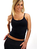 Hot Chillys 2-Layer String Camisole Women's (Black)