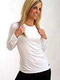 Hot Chillys Crewneck Base Layer Women's (White)