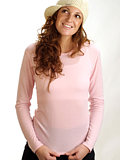Hot Chillys Pepperskins Crewneck Base Layer  Women's (Pink)