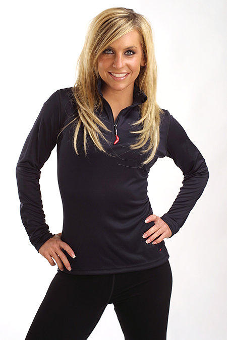Hot Chillys Zip T Layer Women's (Black)