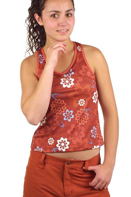 Isis Cross Back Tank Women's (Paprika Blossom)