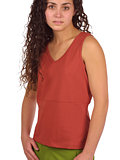 Isis Simple V Tank Women's (Chili)