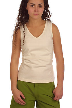 Isis Simple V Tank Women's (White)