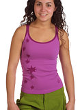 Isis Strappy Star Cami Women's (Violet)