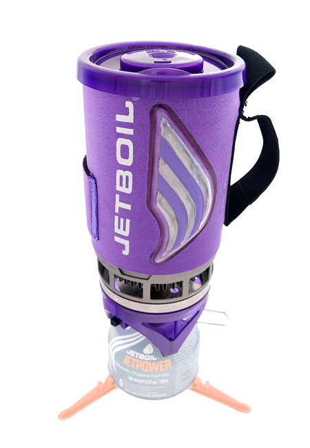 JetBoil FLASH Personal Cooking System (Violet)
