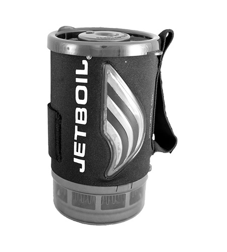 JetBoil One Liter Companion Cup with Heat Indicating Cozy (Black