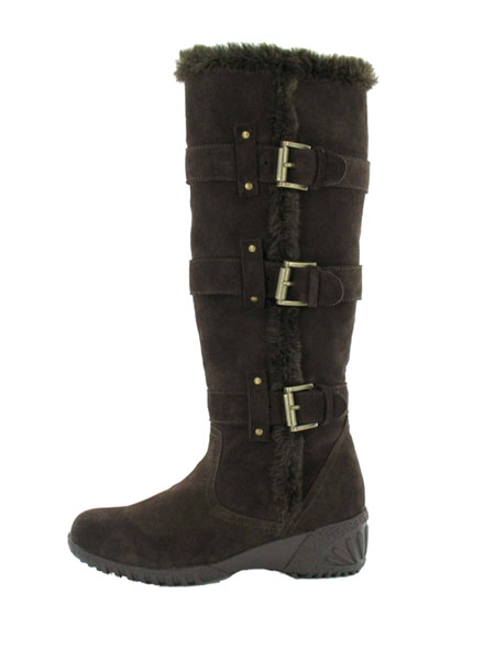 Khombu Saturn Winter Boots Women's (Dark Brown)