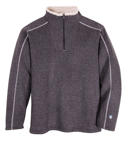 Kuhl Europa Zip Neck Sweater Men's (Steel)
