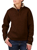 Kuhl Ingrid 1/4 Zip Sweater Women's (Dark Brown)
