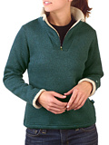 Kuhl Ingrid 1/4 Zip Sweater Women's (Teal)