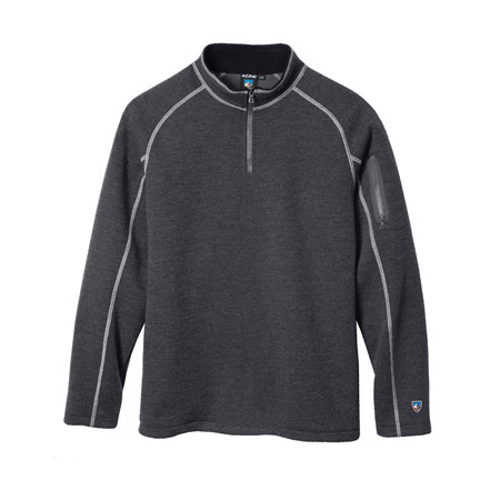 Kuhl Thor Quarter Zip Men's (Graphite )