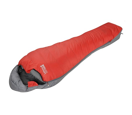 Lafuma Warm'n Light 800 Down Sleeping Bag (Bright Red / Titan Gr