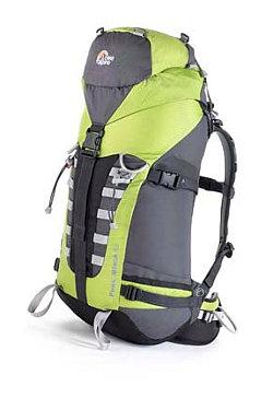 Lowe Alpine Peak Attack 40 Technical Backpack (Lizard Green / Slate Grey)