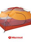 Marmot Aeolos 3 Person Tent (Terra Cotta / Pale Pumpkin)