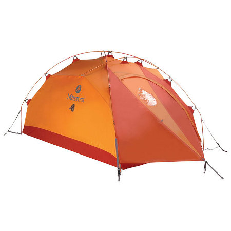 Marmot Alpinist 2 Person Expedition Tent (Pale Pumpkin)