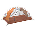 Marmot Crib 2 Person Outdoor Tent (Squash / Red Sand)