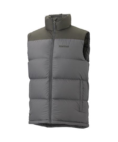 Marmot Guides Down Vest Men's (Gargoyle / Beluga)