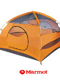 Marmot Halo 4 Person Outdoor Tent (Pale Pumpkin / Terra Cotta)