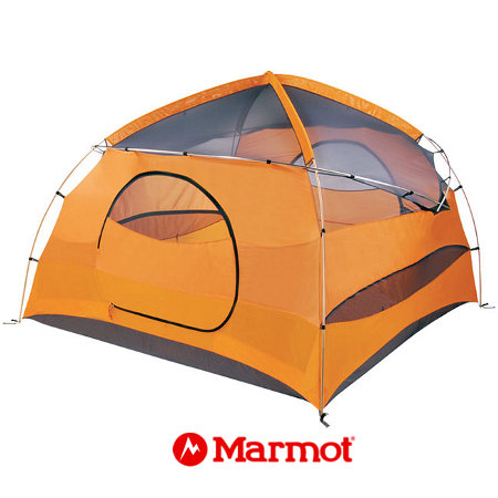 Marmot Halo 6 Person Tent (Pale Pumpkin / Terra Cotta)