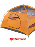 Marmot Halo 6 Person Outdoor Tent (Pale Pumpkin / Terra Cotta)
