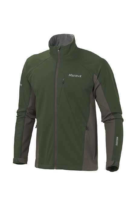 Marmot Leadville Softshell Jacket Men's (Fatigue / Beluga)