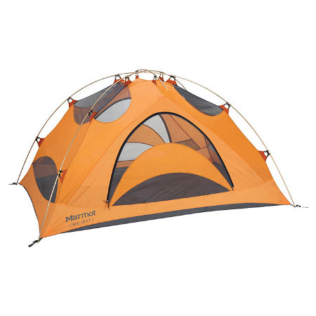 Marmot Limelight 3 Person Outdoor Tent (Pale Pumpkin / Terra Cot