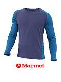 Marmot Midweight Crew Long Sleeve Men's (Tempest / Fathom)