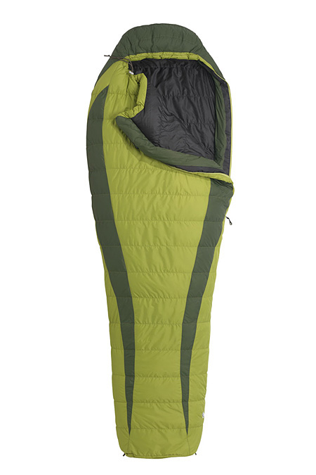 Marmot Never Winter Down Sleeping Bag Long (Hemlock / Dark Ceda