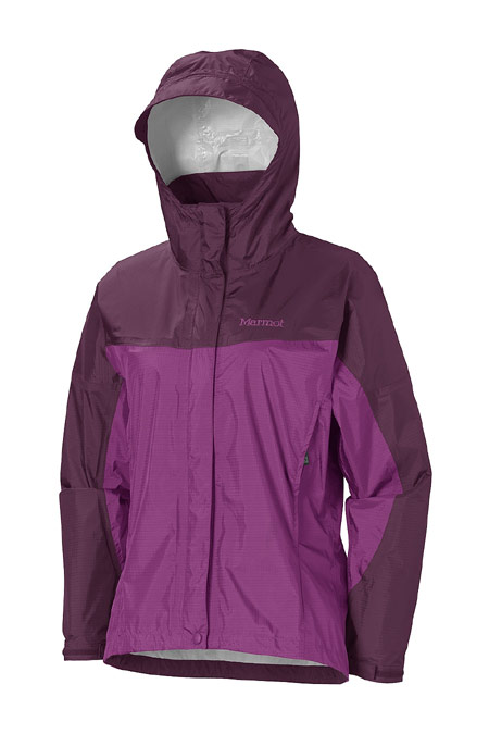 Marmot Precip Jacket Women's (Grape Berry / Dark Purple)
