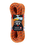 Millet Diamond Triaxiale Dynamic Climbing Rope 10.4 mm (Orange)