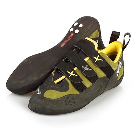 Millet Hybrid Rock Climbing Shoes (Green Moss)