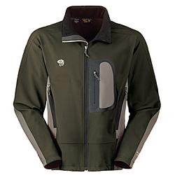Mountain Hardwear Alchemy Jacket Men's (Pesto / Titanium)