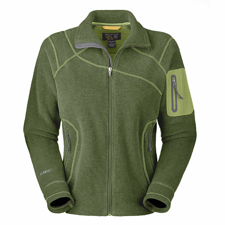 Mountain Hardwear Curved Ridge Fleece Jacket Women's (Cypress He