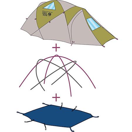 Mountain Hardwear Drifter 2 Tent Footprint PL (Standard)