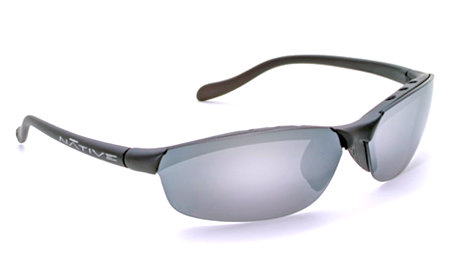 Native Eyewear Dash SS Polarized Sunglasses (Asphalt / Silver Re