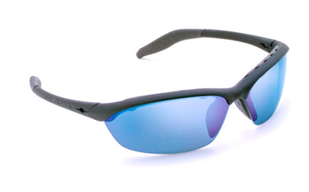 Native Eyewear Hardtop Polarized Sunglasses (Asphalt / Blue Refl