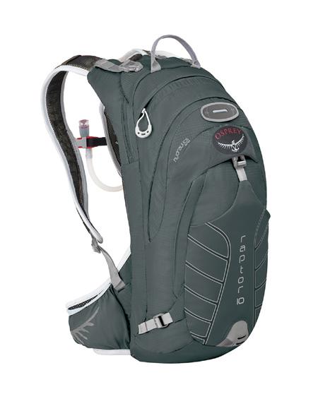 Osprey Raptor 10 Hydration Pack (Silt Gray)