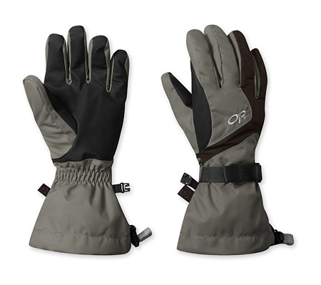 Outdoor Research Adrenaline Gloves Women's (Fossil / Espresso)