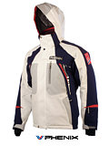 Phenix Norway Olympic Soft Shell Jacket Men's (White / Navy)