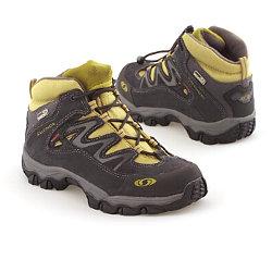 Salomon Extend Mid Waterproof Shoes Kids' (Asphalt / Asphalt)