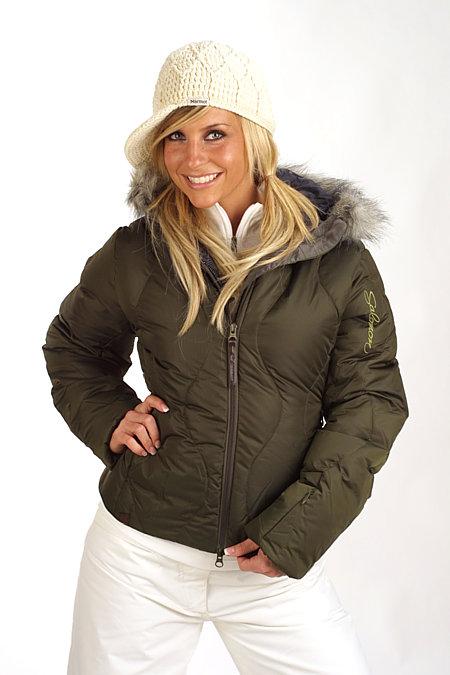 Salomon Miss Maya Short Jacket Women's (Olive)