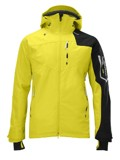 Salomon Sideways 3L Jacket Men's (Corona Yellow / Black)
