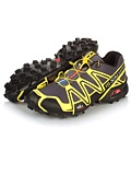 Salomon Speedcross 3 Trail Racing Shoe Men's (Black / Canary Yellow / Autobahn)