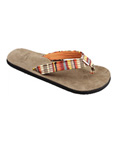 Sanuk Fraidy Cat Sandals Women's (Orange)